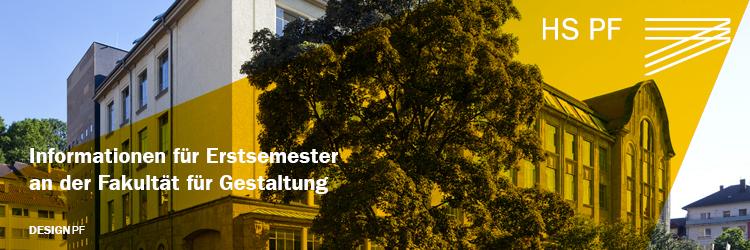 Informationen für Erstsemester an der Fakultät für Gestaltung