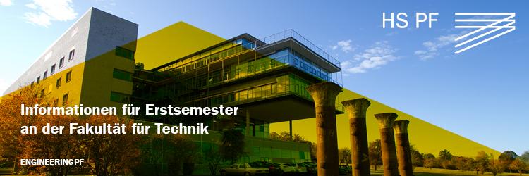 Informationen für Erstsemester an der Fakultät für Technik