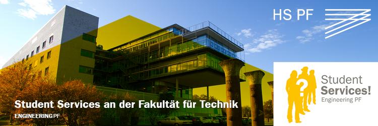 Kontakt und Anmeldung Student Services Engineering PF