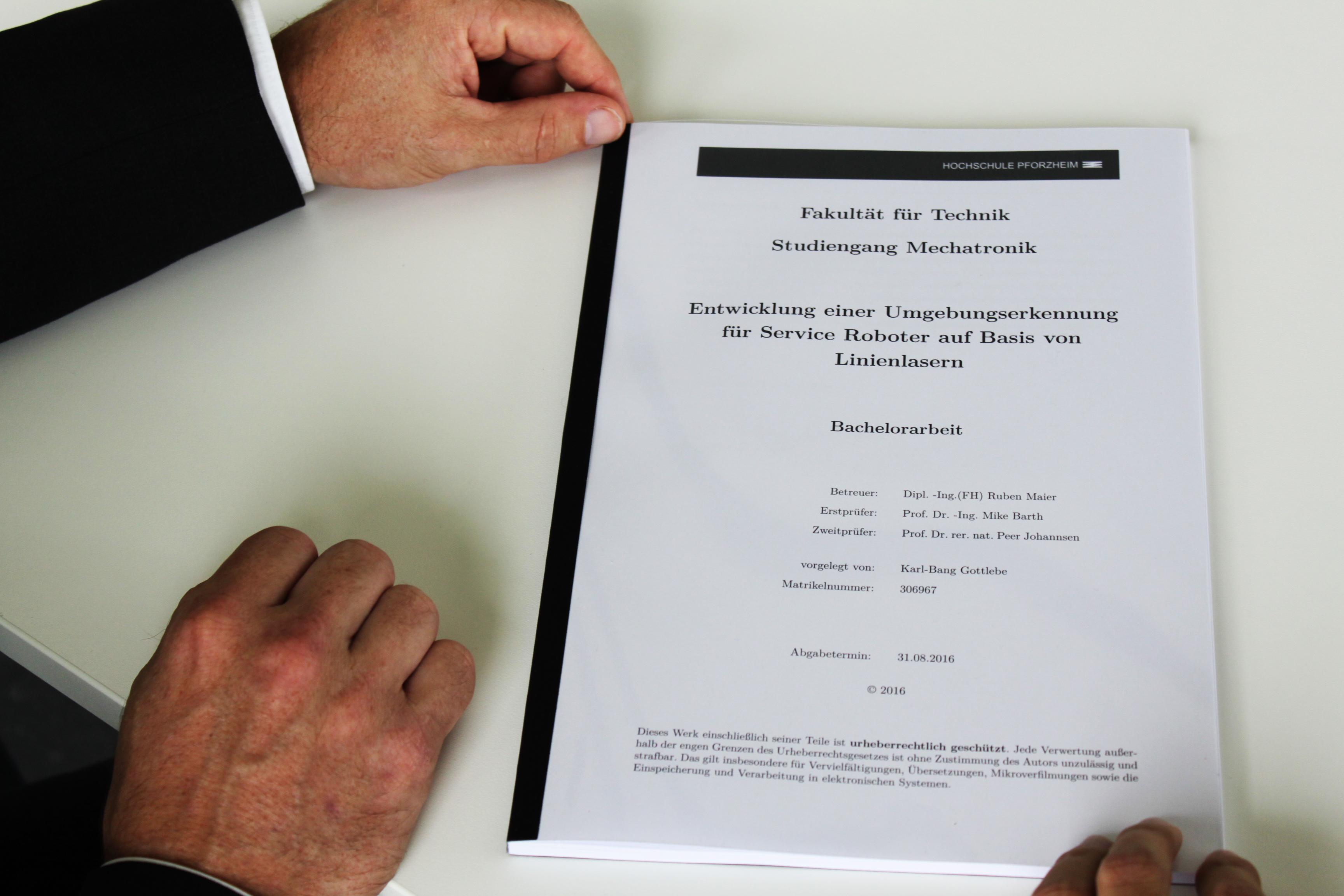 hochschule pforzheim bachelor thesis